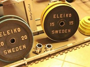 Eleiko i gummi -15 kg, 20 kg,